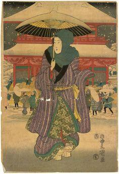 Kunisada I. = Utagawa Kunisada I. = Toyokuni III. (1786-1864)