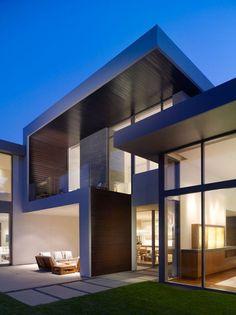 čistá moderná fasáda