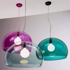 Kartell air lights, loving my new job working with this