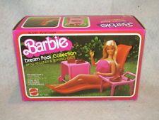 Vintage 1980 Mattel Barbie Doll Dream Pool House Recliner in original box