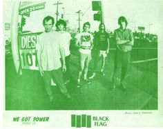 Black Flag in We Got Power Fanzine, photo: Glen E. Henry Rollins, Sr1, Time Warp, Good Ole, Deconstruction, Punk Rock, My Images, Rock N Roll, Pin Up
