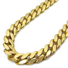 Mens 10k Yellow Gold Curb Cuban Link Chain 32 Inch Solid $6,495.00 (save $7,795.00)