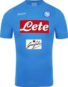 The Napoli 16-17 home kit introduces a low-key design which features three different sponsors on the front and back.