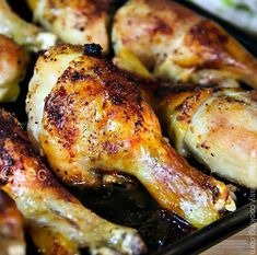 Marinated Baked Chicken Drumsticks Recipe – Sandra's Easy Cooking – Chicken Recipes 2020 Turkey Dishes, Turkey Recipes, Dinner Recipes, Restaurant Recipes, Dinner Ideas, Easy Cooking, Cooking Recipes, Healthy Recipes, Cooking Food