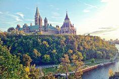 Parliament Hill, Ottawa, Canada.  Beautiful city.