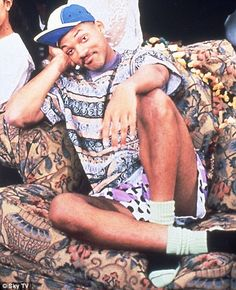 Fresh Prince of Bel Aire! One of Blakes' favorite shows LOL!!