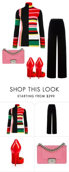 """""""Untitled #5405"""" by browneyegurl ❤ liked on Polyvore featuring Kenzo, T By Alexander Wang and Chanel"""