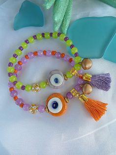SALE TURKISH AMULET Bracelets  Ethnic jewelry  Bohemian by Nezihe1, $14.99