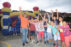 """Concluyen las actividades de """"vive el parque"""" lideradas por Carlos Mario Gil"""