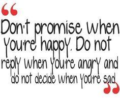 Happiness, angriness, sadness