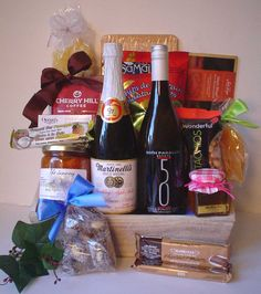 Holiday Gift Baskets, Wine Gift Baskets, Holiday Gifts, Coffee Baskets, Golf Drawing, Real Estate Gifts, Wine Festival, Wines, 50th