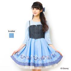 - SecretHoney by HoneyBunch Day Dresses, Cute Dresses, Dress Outfits, Dress Up, Girls Dresses, Cute Outfits, Disney Princess Fashion, Disney Style, Disney Fashion