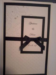 Elegant Swirls Wedding Invitation by ldevincentis - Cards and Paper Crafts at Splitcoaststampers