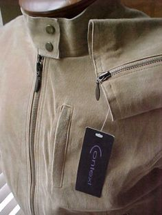 Context Ladies Suede Leather Jacket size 14