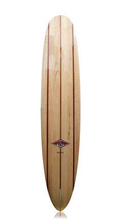 Bear Surfboard Wood . One Off Surfboard
