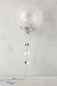 Anthropologie Confetti Balloon Kit. Click the link to shop right now!