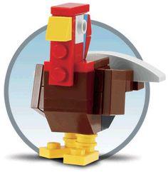 LEGO Monthly Mini Model Build for November