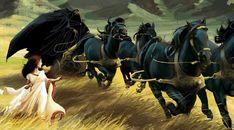 Persefona i Hades [Hades - bóg świata podziemnego i umarłych]