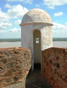 """Castillo """"San Diego"""", río Orinoco, estado Bolívar."""