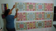 Victorian Modern Quilt Along- Video #4- How to Make Sashing and Cornerst...