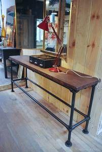 Le Marchand d'Oublis : Catalogue | Console métal & bois