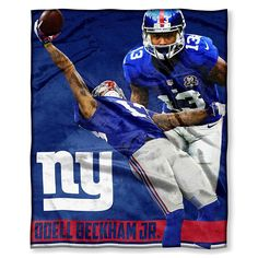 Officially Licensed NFL Silk Touch Throw - Odell Beckham Jr