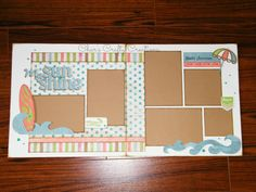 CTMH Seaside layout created by Char's Crafty Creations