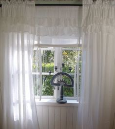 raff rollo gardine natur shabby chic curtain landhaus fenster gardinen pinterest gardinen. Black Bedroom Furniture Sets. Home Design Ideas