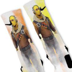 c2f2cdc858818b Fortnite Raptor Custom Nike Elite Socks