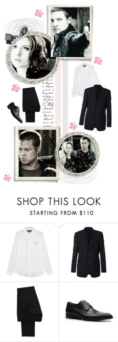 """""""Just stop your crying, it's a sign of the times // round o6 ;; battle of the idols s5"""" by this-girl-on-fire ❤ liked on Polyvore featuring Polo Ralph Lauren, Gucci, Dolce&Gabbana, Mercanti Fiorentini, men's fashion and menswear"""