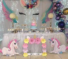New Pastel Unicorn Birthday Party Cake 49 Ideas Unicorn Themed Birthday Party, 10th Birthday Parties, Unicorn Party, Birthday Party Decorations, Baby Shower Decorations, Unicorn Baby Shower, Inspiration, Pony, Party Ideas