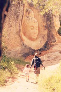 ruta-en-familia Madrid, Mount Rushmore, Mountains, Nature, Kids, Travel, Elopements, Trekking, Paths