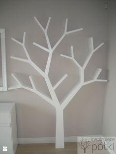 Półka jak drzewo 210x150x18cm - zdjęcie od Inspirujace półki - Sypialnia - Styl Skandynawski - Inspirujace półki