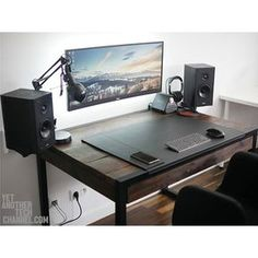 What an awesome setup! I love the look of wooden desk. What's your favorite desktop texture? By Redditor zbeegniev. - - Check out the link in my bio! - Tag a friend who might like this page! - DM or Kik me your setup to be featured! #setup #dreamsetup #wo http://amzn.to/2ldYdqf