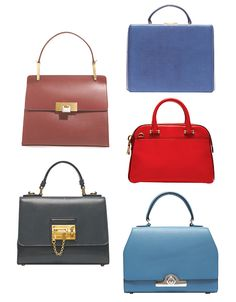 The Best Petite-Size Handbags - WSJ Clockwise from left: Balenciaga Le Dix Cartable S Bag, $1,735, Balenciaga, 212-206-0872  Mark Cross Grace Box, $2,495, markcross1845.com  Milly Blake Small Satchel, $355, bloomingdales.com |  Moynat Petite Réjane Bag, $5,275, Dover Street Market, 646-837-7750 | Dolce & Gabbana Mini Monica Bag, $2,495, Dolce & Gabbana, 877-703-4872 |