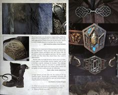 Costuming Article on Thorin's construction