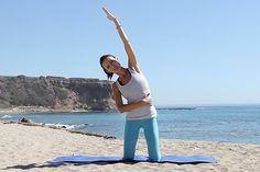 Workout Wednesday: Kneeling Side Kicks   via The Honest Company Blog