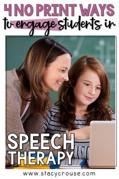 Are you looking for some easy, no-fail activities to revive to your speech therapy sessions and excite your students? Check out these 4 digital applications that are sure to increase your students' engagement! Speech Therapy Autism, Speech Therapy Activities, Articulation Activities, Language Activities, Student Engagement, Engagement Speech, Play Therapy Techniques, Speech Room, Social Thinking