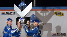 That was a very big win last Sunday in Atlanta for Jimmie Johnson, crew chief Chad Knaus and the whole No. 48 team. I've never known them to ever lack in confidence, but human nature being what it is, especially after their inconsistencies in 2014, Sunday's win was huge for them.