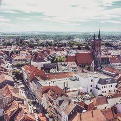 #Göttingen from above ... #MyLowerSaxony #EnjoyGermanNature #GermanyChallenge #TandemChallenge