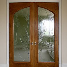 Contemporary, Hawaii Homes, Glass Film Design, Glass Design, Frosted Glass Door, Glass Door, Door Glass Design, Main Door Design, Window Design