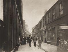 "Thomas Annan. Nelson Street, City. 1899. Photogravure. 6 3/4 x 8 3/4"" (17.2 x 22.2 cm). Purchase. 308.1975.46. Photography"