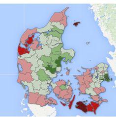 Her vil danskerne bo i 2040. Affolkningen af yderområder i Danmark. Hvor stiller det den vestdanske region og kan vi overhovedet påvirke den udvikling?