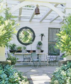 like this style better than a traditional pergola.