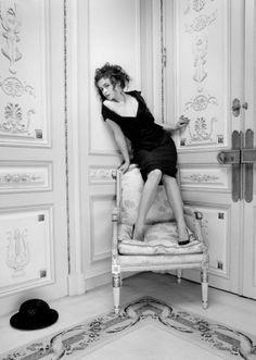 Helena Bonham Carter par Kate Barry.