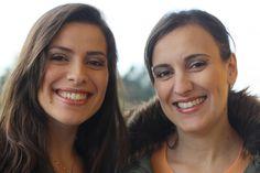 Registo fotográfico do resultado final do Projeto 100 mulheres/100 maquilhagens Mary Kay das irmãs Nicole & Andreia Costa.