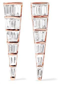 36538e307 Anita Ko - Dagger 18-karat Rose Gold Diamond Earrings Gold Diamond Earrings,  Diamond