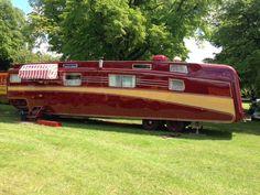 Restored Royal Windsor showman's trailer
