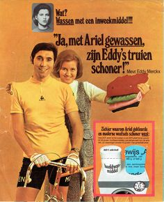 Eddy Merckx - Ariel wasmiddel.