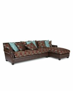 Old Hickory Tannery Turrisi Sectional - Horchow
